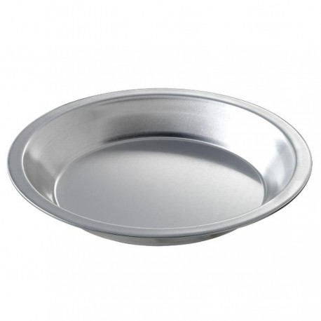 Deep Dish Pie Pan, 9 inch  (top inside) dia. x 1-1/4 inch  deep