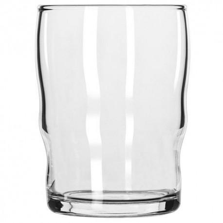 Milk Glass, 8 oz., double bulge, rim-tempered, Governor