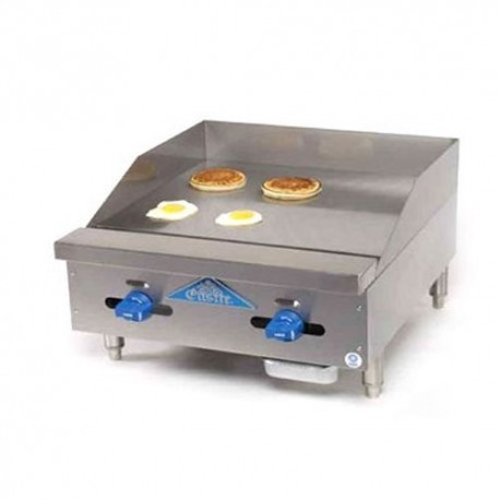 """Griddle, Countertop, Thermostatic, Gas, 24"""""""