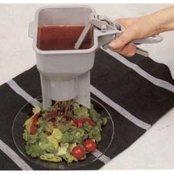 Condiment Portion Control Dispenser, with legs