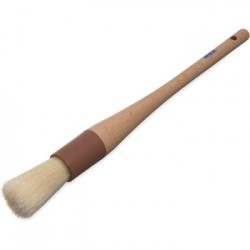 "Pastry Brush 1"" Round Wood Handle"