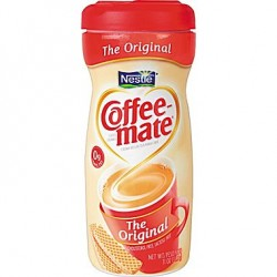 Coffee-Mate Creamer Canisters, 11-oz.