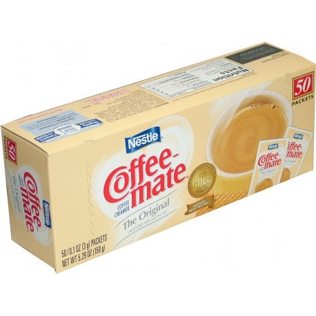 Coffee-Mate Creamer Packets, Boxes