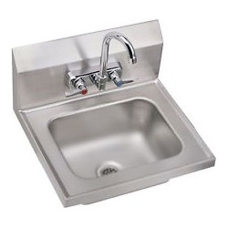 Hand Sink, NSF, Wall Mount, w/ Faucet