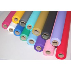 "Plastic Table Covering, Colors, 40"" x 100'"