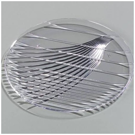 "Festival Tray, 13"", round, break-resist"