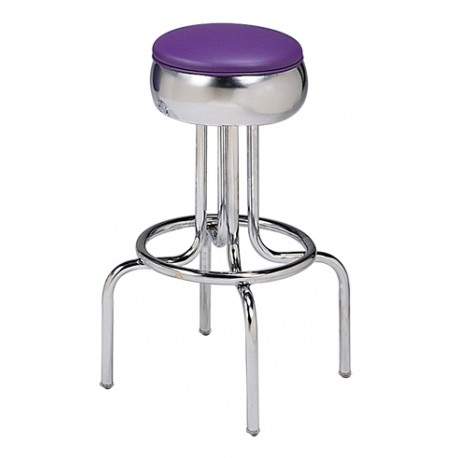 Bar Stool Metal Frame Uph Seat