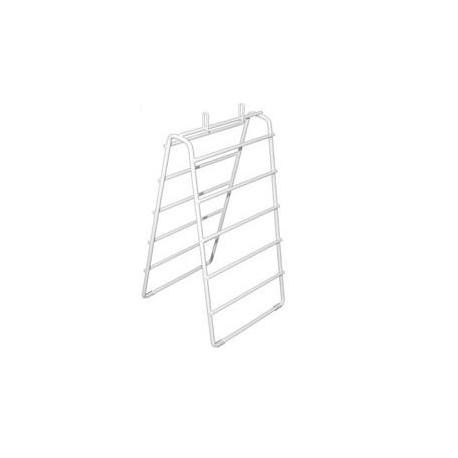 Plastic Coated Wire Saddle Bag Frame 8.5\