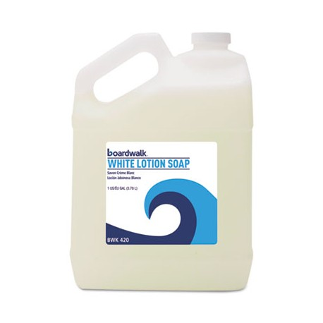 Lotion Hand Soap White, Gallons