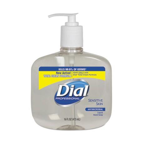 Liquid Dial Sensitive Skin, 16-oz Pump