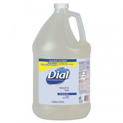 Liquid Dial Sensitive Skin Anti-bacterial Hand Soap, Gallons