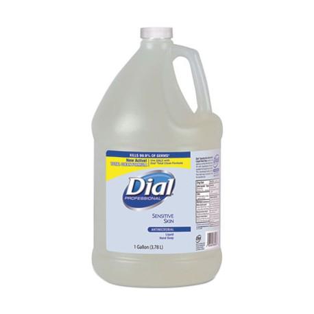 Liquid Dial Sensitive Skin Anti-bacterial Hand Soap, Gallons
