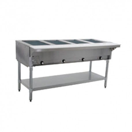 """Steam Table, 4-Hole, Electric, 63"""", 240 Volt"""