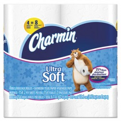 Charmin Ultra Double Roll  Toilet Tissue, 2-ply