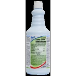 Super Toilet Bowl Cleaner (24% Hydrogen Chloride) 12-oz.