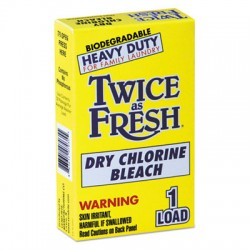 Heavy Duty Coin-Vend Powdered Chlorine Bleach, 1 load