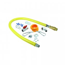 """Safe-T-Link Gas Connector Kit, 3/4"""" connection, 48"""" long"""