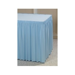 Table Skirting, Shirred 17' x 29""
