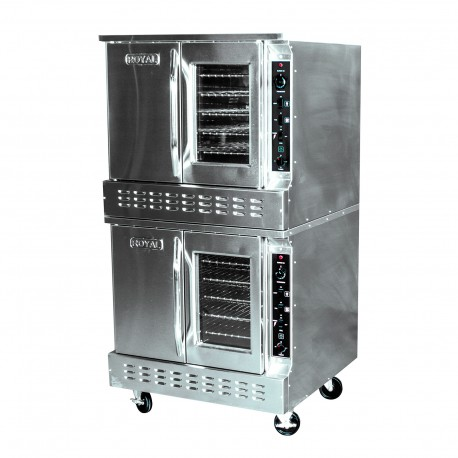 Royal Convection Oven, Gas, Double-Deck