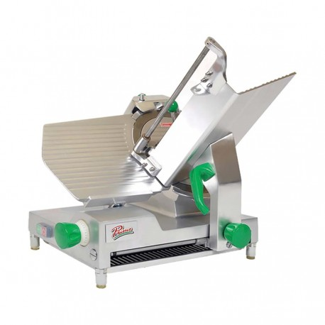 """Deluxe Meat Slicer, manual, 12"""", 1/2 Hp"""
