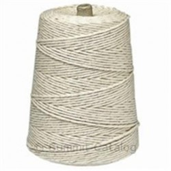 Twine Cotton/Polyester, 2 lb. Cone, 24 Ply