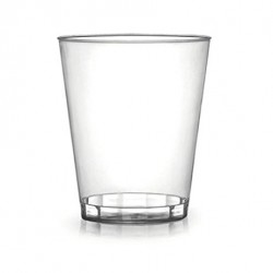 12-oz Clear Hard Plastic Tumbler Cups
