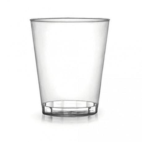 12-oz Clear Hard Plastic Tumbler Cups