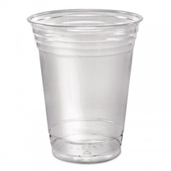 12-oz. Clear Soft PET Flexible Plastic Cups