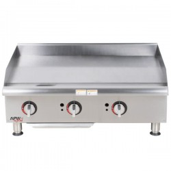 Griddle, Countertop, Manual, Gas, 36""
