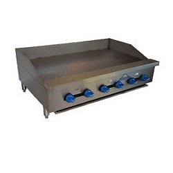 Griddle, Countertop, Thermostatic, Gas, 54""