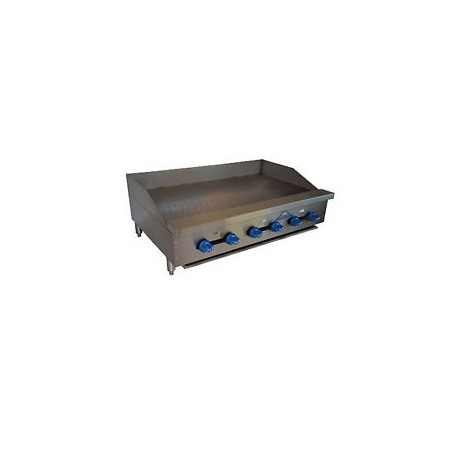 """Griddle, Countertop, Thermostatic, Gas, 54"""""""