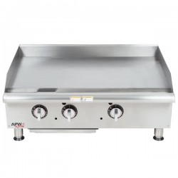 Griddle, Countertop, Thermostatic, Gas, 36""