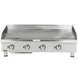 Griddle, Countertop, Thermostatic, Gas, 48""