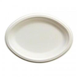 """Empress Fiber Platter, Biodegradable, 12-1/2"""" x 10"""""""