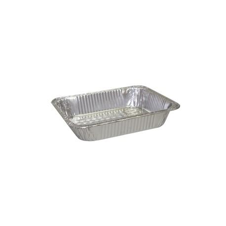 """Half-Size Aluminum X-Heavy Foil Steam Table Pans. 4-3/16""""D"""