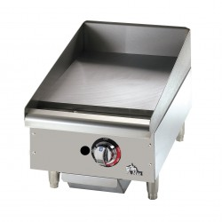"Griddle, Countertop, Electric 15"", 208/240 Volt"