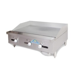 """Griddle, Countertop, Thermostatic, Gas, 72"""""""