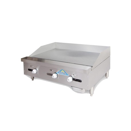 """Griddle, Countertop, Thermostatic, Gas, 60"""""""