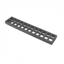 "Bottom grate, Char Broiler, 3"" x 15"""