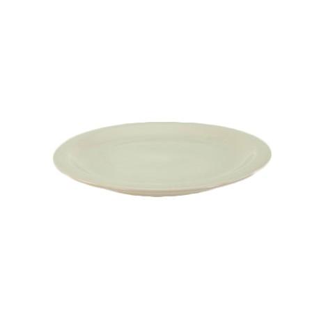 China Plate, 6-3/8'', narrow rim, Dover White
