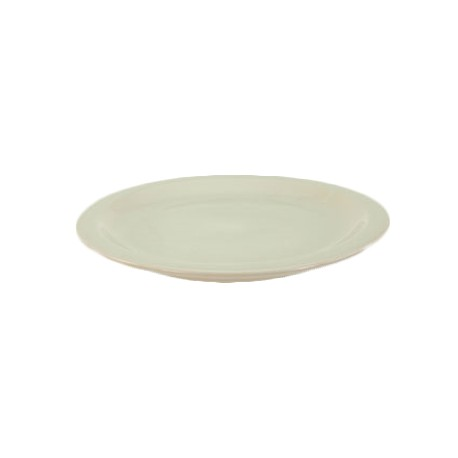 China Plate, 10-1/4'', narrow rim, Dover White