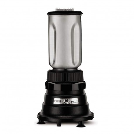 Bar Blender, 32 oz. S.S. Container, 1/3 Hp