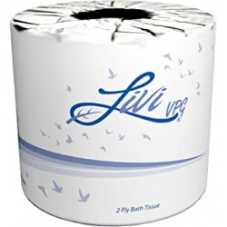 Toilet Tissue Livi VPG Select 500 Sheet, 2-Ply XX-Soft