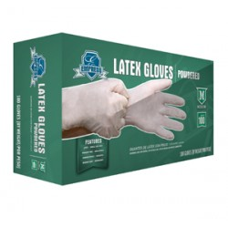 Premium Latex Gloves, Powdered,  X-Large