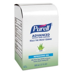 Purell Sanitizer Bag-In-Box Refills, 800-ML