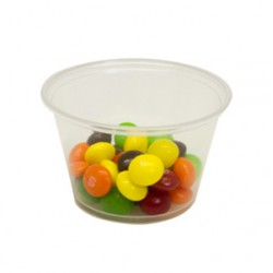 Plastic Portion Soufle Cups, 4-oz.