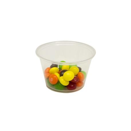 Plastic Portion Soufle Cups, 4-oz.