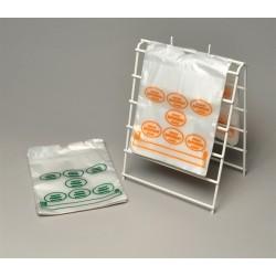 Plastic Coated Wire Saddle Bag Frame