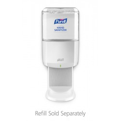 White ES6 Touch-Free Hand Sanitizer Dispenser