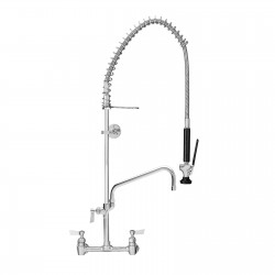"Fisher Pre-Rinse Faucet Unit with Faucet, 8"" Wall Mount"